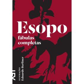 Esopo Fábulas Completas Cosac Naify Edição Luxo Em Estoque
