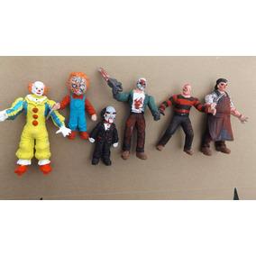 6 Figuras Botlegh Peliculas Terror Chucky Jason Saw Freddy