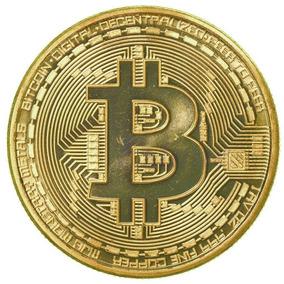 Bitcoin Moneda Representación Fisica Criptomoneda !