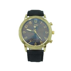 6adf1a4ee94 Relógio Nice Transparente Pulseira Couro Cores Frete Gratis ...