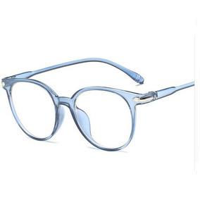 32fe51189a555 Relogio Transparente Feminino Acetato - Óculos Azul no Mercado Livre ...