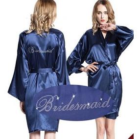 Vestido/quimono Roupões De Banho, Noiva Noiva Empregada