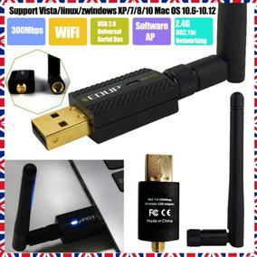 Edup Wifi Receptor 2dbi Wireless-n Usb 2.0 Lan Antena