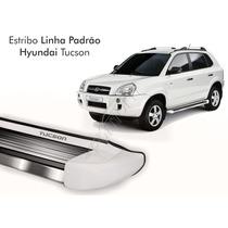Estribo Hyundai Tucson 2012 2013 2014 2015 Vanilla White