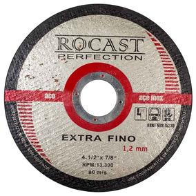 Disco De Corte Extra Fino 4.1/2 Pol. X 1,2mm-rocast-134,0002