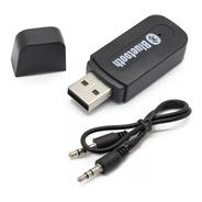 Receptor Bluetooth Auto Stereo Usb Miniplug Kanji