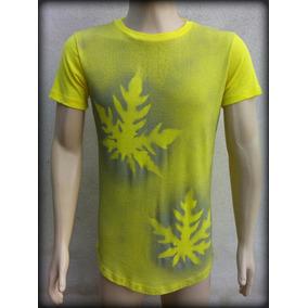 acae5dcda Camisas Long Line Amarela - Calçados