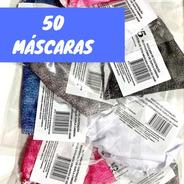 Kit Máscaras Contenção Respiratórias Mc5 Tecido Reutilizável