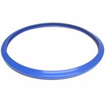 2 Borracha Panela Pressão Inox Clock Inox 6l Azul