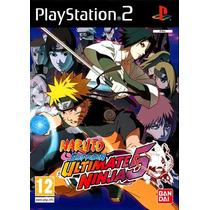 Jogo Ps2 - Naruto Ultimate Ninja 5 - Frete Grátis