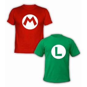 Playeras O Camiseta Mario Y Luigi Brossedicion Especial 100%