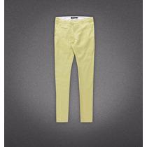 Pantalon Casual De Lino Marca Altoretti, Dise��os Exclusivos