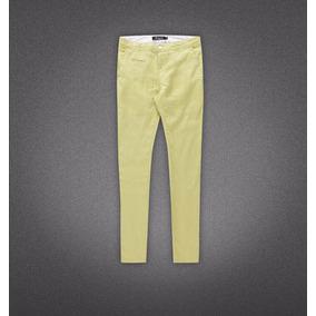 Pantalon Casual De Lino Importados, Diseños Exclusivos