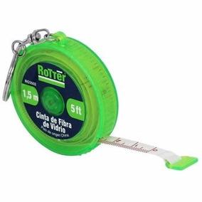 Flexómetro Estilo Llavero 1.5 M Ro3502 Rotter