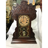 Reloj Marca Ansonia Antiguo Funcional
