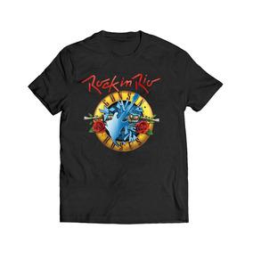 Camisa Camiseta Rock In Rio Banda Guns Roses Musica