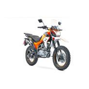 Motocicleta Carabela Route R Sonora 200 Naranja