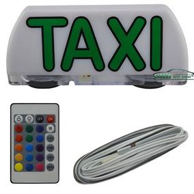 Luminoso De Taxi Com Controle Remoto