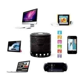 Caixinha De Música Som Portátil Bluetooth Mp3 Fm Usb