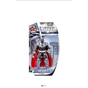 Boneco Superman Steel - Total Heroes Mattel