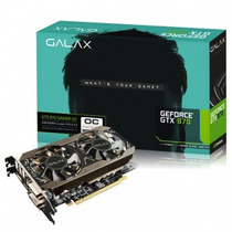Placa De Vídeo 4gb Geforce Gtx 970 Oc 256 Bits 12x Sem Juros