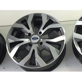 Jg Roda 15 New Fiesta 4x108 Tala 6,0 Ford Ka Grafite Diam A6