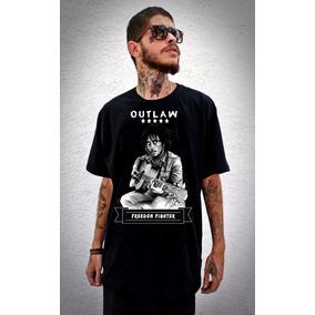 T-shirt Camiseta Outlaw Bob Marley