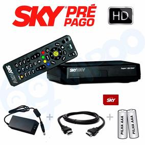 Aparelho Receptor Original Sky Novo Sky Pré Pago Flex Hd