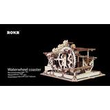 Rompecabezas Montaña Rusa Waterwheel Coaster Rokr Didáctico