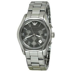 Relógio Emporio Armani Ar1465 Ceramica Grafite, Garantia