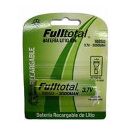 Pila Bateria 18650 C/teton Fulltotal 3000 Mah - Factura A/b