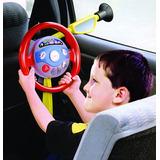 Minha Primeira Direção Volante Eletrônico Brinquedo Infantil