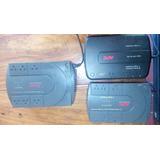 3 Backups Reguladores Apc, 500, 550, 600 Va