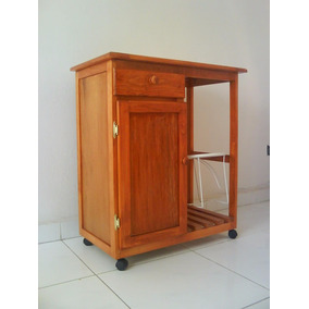 Mueble De Madera Para Cocina Porta Garrafon Y Despensa