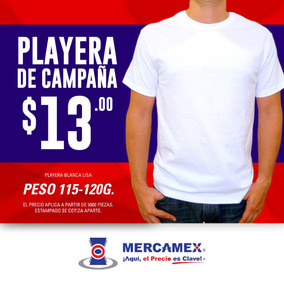 Playera De Campaña Economica