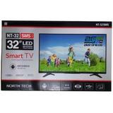 Tv Monitor Led Hd 32 Smart Slim Conversor Usb Conversor Wifi