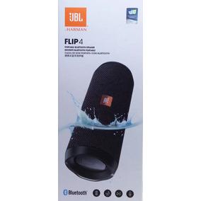Caixa De Som Jbl Flip 4 Bluetooth Cor Preta Original