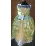 Vestido Princesa Tiana, La Princesa Y El Sapo