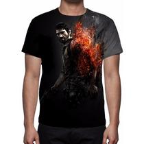 Camisa, Camiseta Game The Last Of Us Mod 04 - Estampa Total