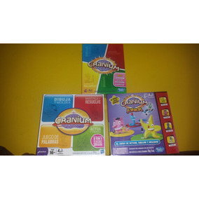 Cranium Adultos Adolescentes Junior Hasbro Gaming Set 3
