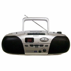 Rádio Gravador C/cd E K7-coby Cx-cd255 - Novo C/nf Bivolt