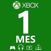 Membresia 1 Mes Xbox Live Gold / Entrega Inmediata!