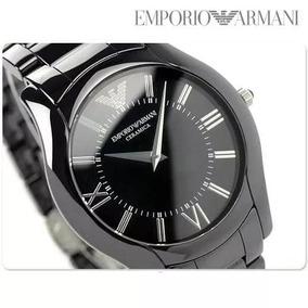 7cf64c69761 Relogio Emporio Armani Ar1440 Ceramica Preto - Relógios De Pulso no ...