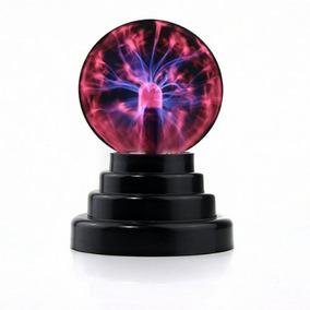 Plasma Ball Partido De La Esfera Del Relámpago Usb Operado P