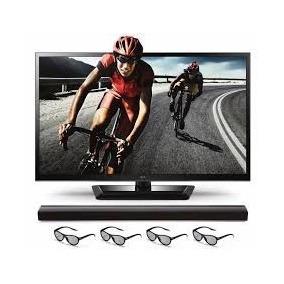 Televisor Hd Lg 55 3g Led Lentes 55lm4700 Barra Sonido Nuevo