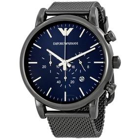 a04361bf338 Relógio Emporio Armani Ar1979 Original + Caixa + 3 Anos De G. R  549. 12x R   45 sem juros