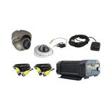 Sistema Videovigilancia Móvil Ip, Incluye Mdvr 6ch 2 Camaras