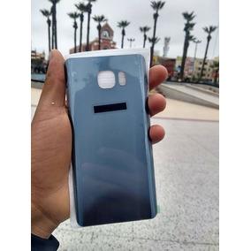 Tapa Trasera Para Samsung Note 5 Color Azul Oscuro