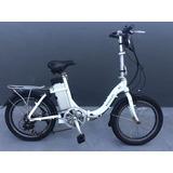 Bicicleta Elétrica 20 Alumínio Dobrável Mobility M2 Riosouth