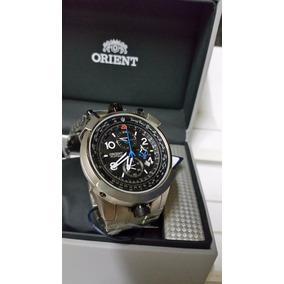 72a7cf3d307ba Relogio Orient Aviador Fly Tech Titanium Mbttc008. R  965
